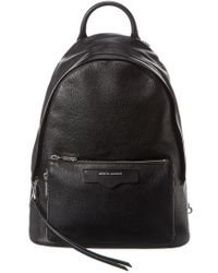 Rebecca Minkoff Black Emma Leather Backpack