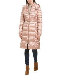 Cole Haan Pink Signature Long Jacket