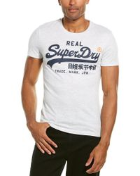 Superdry White Graphic T-shirt for men