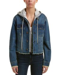Madison Marcus Blue Vicenti Jacket