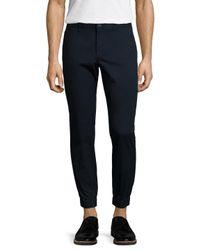 Original Penguin Blue P55 Lightweight Slim Fit Jogger Pants for men