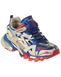 Balenciaga Red Track.2 Neoprene & Rubber Sneaker