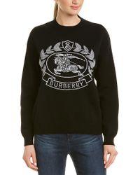 Burberry Black Bilston Sweater