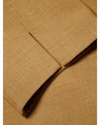 Carolina Herrera Natural Wool-blend Sheath Dress