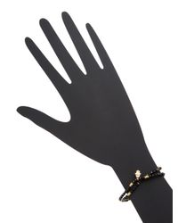 Tai - Black Hamsa Friendship Bracelet - Lyst
