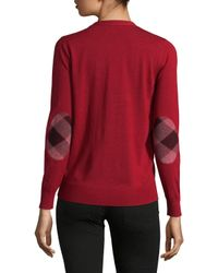 Burberry Red Sweater