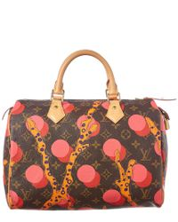 Louis Vuitton Limited Edition Pink Ramages Monogram Canvas Speedy 30