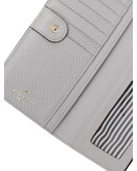 Kate Spade Gray Cobble Hill Stacy Leather Wallet
