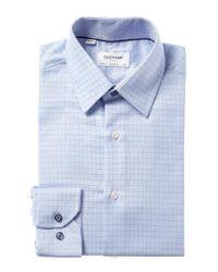Duchamp Blue Tailored Fit Dress Shirt for men