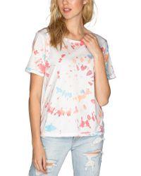 Chrldr Multicolor Brynley Wide T-shirt