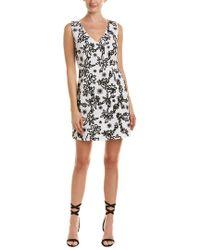 Rachel Zoe White Shari Embellished Cotton-gauze Mini Dress