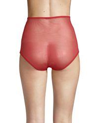 La Perla Red High-waist Brief