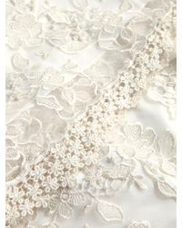 BHLDN White Verity Lace Column Gown