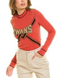 Off-White c/o Virgil Abloh Orange Off-white? Swans Sweater