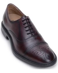 Belvedere Multicolor Vincenzo Leather Oxford for men