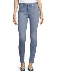 Hudson Blue Barbara High-waist Skinny Jeans