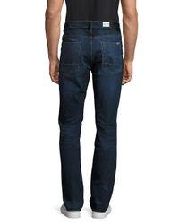 Hudson - Blue Whiskered Denim Pants for Men - Lyst
