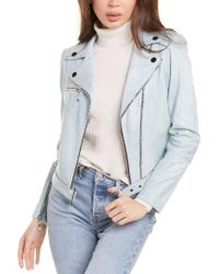 Insight Blue Moto Jacket