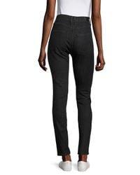 Sandro Blue Skinny-fit High-waist Jeans