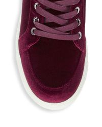 J/Slides Multicolor Velvet High Top Sneakers