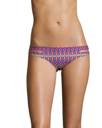 L*Space Purple Estella Bikini Bottom