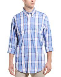Brooks Brothers Blue Madison Buttondown Shirt for men