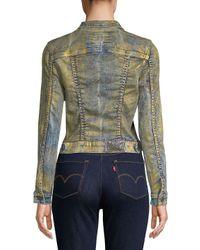 Robin's Jean Green Good Times Denim Jacket