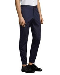 J.Lindeberg Blue Sasha Pique Cotton Joggers for men