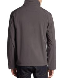 CALVIN KLEIN 205W39NYC - Natural Zip-front Jersey Jacket for Men - Lyst
