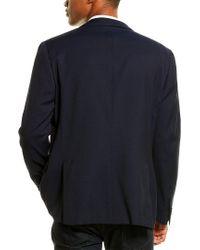Corneliani Blue Wool Sportscoat for men