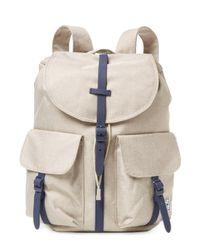 Herschel Supply Co. - Natural Dawson Flap Backpack - Lyst