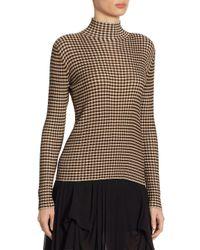 Akris Punto Natural Silk Mockneck Pullover