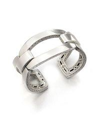 John Hardy - Metallic Women's Classic Chain Sterling Silver Link Cuff Bracelet - Silver - Lyst