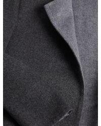 Vince Gray Reversible Face Coat