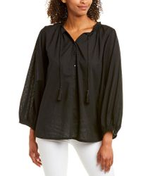 Emerson Fry Black India Collection Blouse