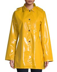 Jane Post - Yellow Princess Hooded Raincoat - Lyst