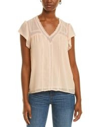 1.STATE Multicolor Lace Top