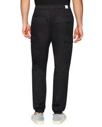 Hudson - Black Gunner Drawstring Cargo Pants for Men - Lyst