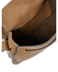 Chloé Black Marcie Medium Leather Cross-Body Bag