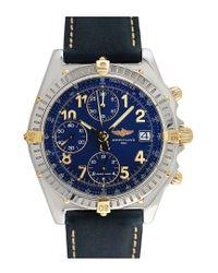 Breitling Multicolor Breitling 1990s Men's Chronomat Watch for men