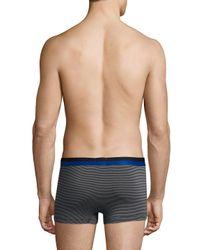 2xist - Blue Barcode Extra Soft Modal Trunk for Men - Lyst