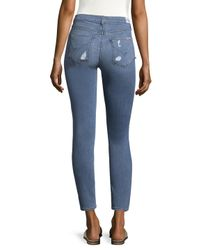 Hudson Blue Nico Cotton Ankle Skinny Jeans