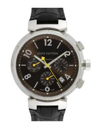 Louis Vuitton Metallic Louis Vuitton 2000s Men's Tambour Watch for men