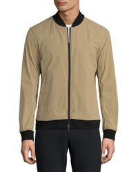 Theory Natural Zip-front Bomber Jacket for men