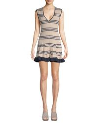Alice McCALL - Black Frenchie Striped Dress - Lyst