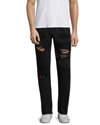 True Religion - Black Geno Cotton Jeans for Men - Lyst