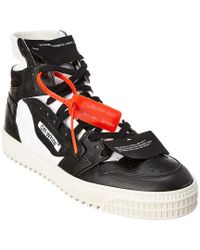 Off-White c/o Virgil Abloh Black Off-white Low 3.0 High Top Leather Sneaker for men