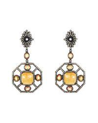 Amrapali Metallic Jewels 14k Diamond & Sapphire Earrings