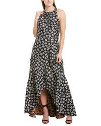 ML Monique Lhuillier Black Gown