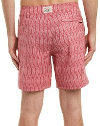 Faherty Brand Red Classic Board Short for men